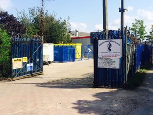 Asbestos Transfer Services Yard